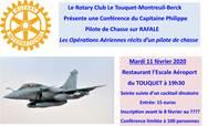 Conférence - Les Opérations Aériennes récits d'un pilote de chasse