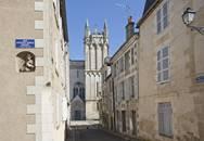 Le quartier de la cathédrale à Poitiers