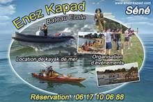 Location de Bateaux et Kayaks, Enez Kapad