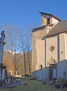 Eglise de St Paul d'Oueil