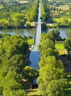 Pont Cacor - Moissac, Canal de Garonne