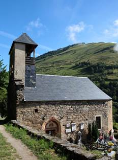 Eglise de Benqué Profil