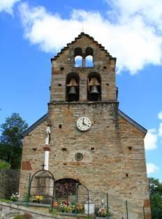 Eglise de Bourg d'Oueil Extérieur