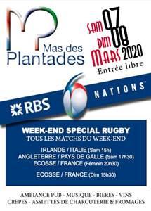 Week-end spécial rugby