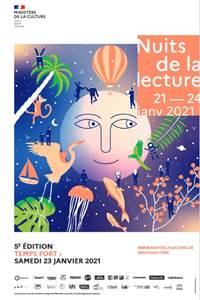 Nuits de la lecture - Rencontre littéraire avec Jean-Paul Tardieu
