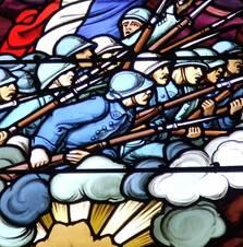 Ablain-Saint-Nazaire - Monuments et Patrimoine culturel - Vitrail Notre-Dame de Lorette