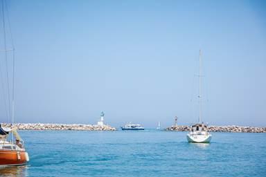 Promenade en mer à Leucate Méditerranée