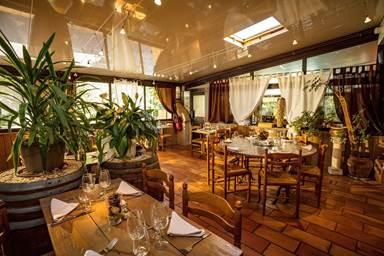 Salle du Restaurant Le Baccus de l'Auberge d'Uzès