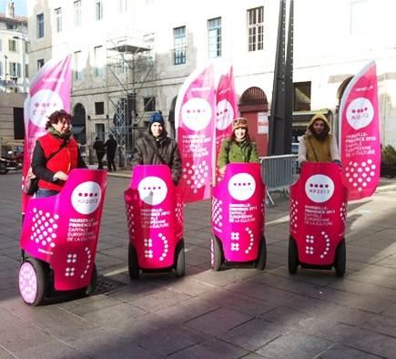Mobilboard est présent pour l'ouverture de Marseille-Provence 2013 !