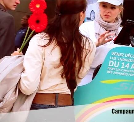Nouvelle vidéo Mobilboard street marketing