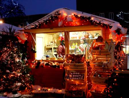 Marché de Noël à Locmaria-Grand-Champ