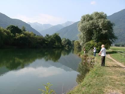 Pêche autour du lac de Badech