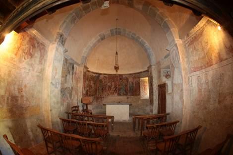 Eglise de Benqué Intérieur 2