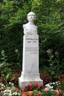 Buste d'Edmond Rostand