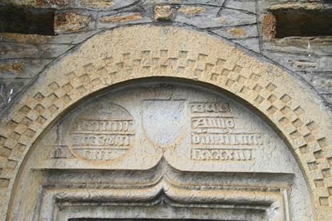 Eglise de Bourg d'Oueil Tympan