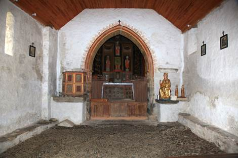 Eglise de la Moraine Intérieur