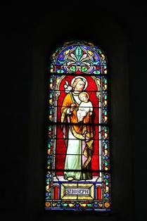Eglise de Luchon Vitrail