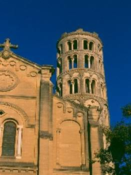 Uzès - Cathédrale et Tour Fenestrelle