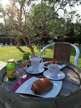Petit Déjeuner au soleil