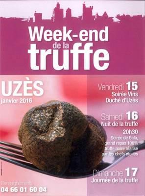 week-end truffe uzès