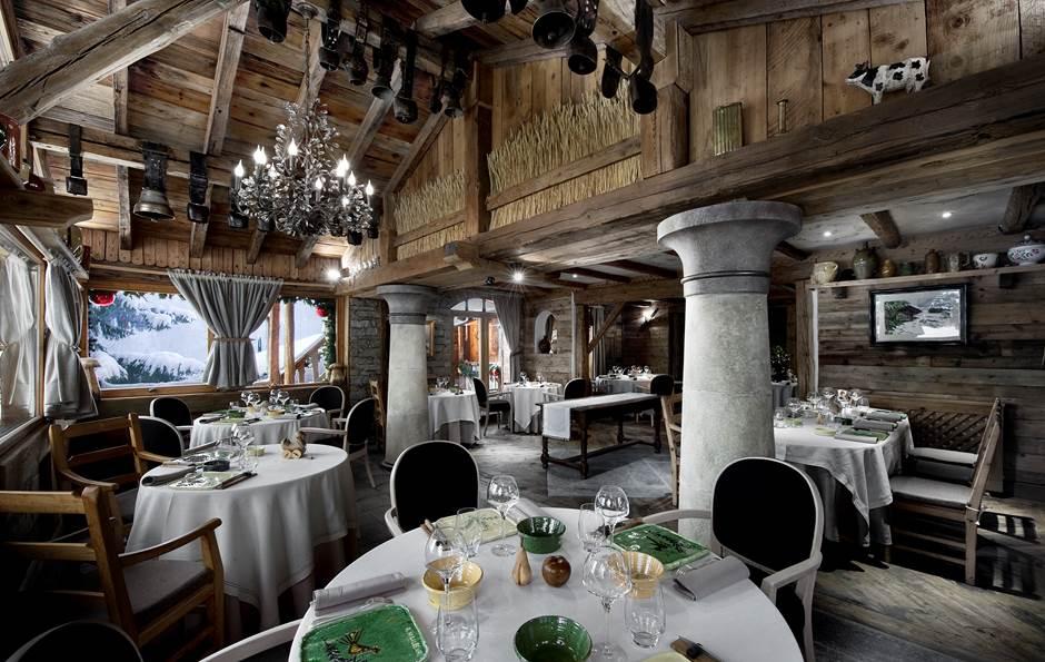 La Bouitte - salle de restaurant