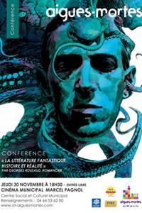 Conférence littérature fantastique