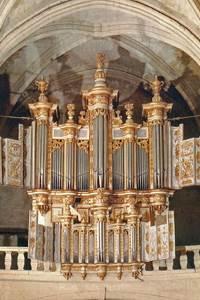 Concert à l'Orgue historique de la Cathédrale d'Uzès avec l'organiste Emmanuel Hocdé