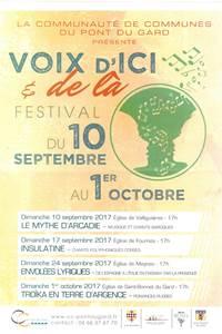 Festival de Voix d'ici et de là