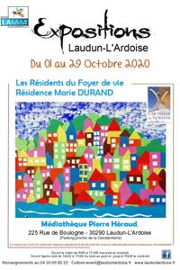 Exposition des Résidents du foyer de résidence Marie Durand