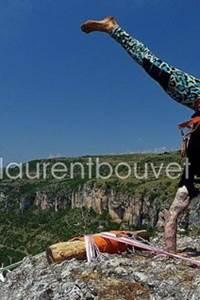 4ème édition du Troglodyte Highline Tour à la grotte de Dargilan