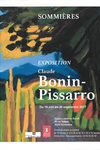 Exposition Claude Bonin Pissarro Sommières
