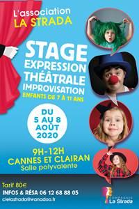 Stage expression théâtrale pour enfants