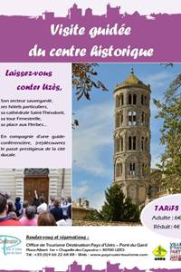 Rendez-vous Uzès 2018 : visite du centre historique d'Uzès