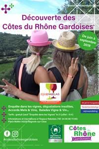 Balade Vigne et Vin à Bagnols-sur-Cèze