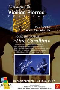 """Concert """"Duo Corallini"""" - Festival Musique et Vieilles Pierres"""