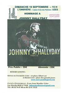Concert - Hommage à Johnny Hallyday