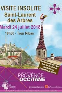 Visite insolite à Saint-Laurent-des-Arbres