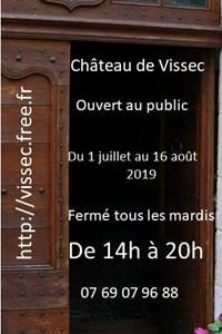 Visite du Château de Vissec
