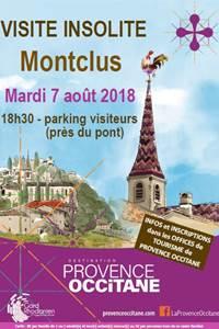 Visite insolite de Montclus