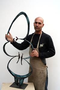 Workshop sculpture par Mehdi Yarmohammadi