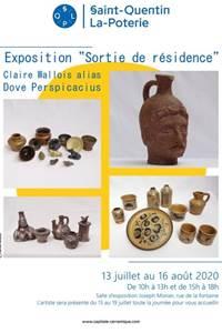Exposition de Claire Wallois alias Dove Perspicacius