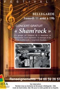 """Concert """"SHAM'ROCK"""" - Festival Musique et Vieilles Pierres"""