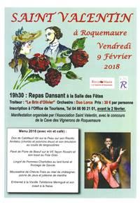 """Saint Valentin à Roquemaure : Soirée créole """"Rocca'Raïb"""""""