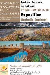 Exposition de peinture à l'huile de Nathalie Sacchetti