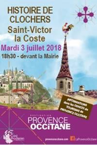 Histoire de Clochers à Saint-Victor-la-Coste