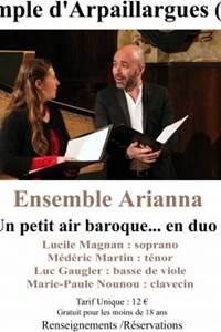 Concert musique Baroque - Ensemble Arianna