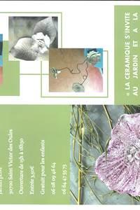 Exposition de céramiques au Jardin des Oules - Arterre Création