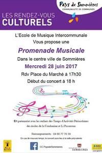 Promenade Musicale Sommières
