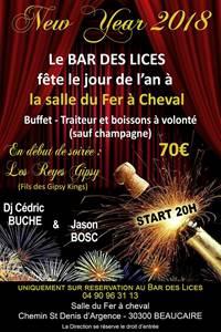 """Soirée """"New Year 2018"""""""