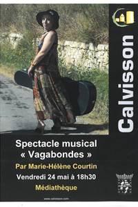 Spectacle musical « Vagabondes »